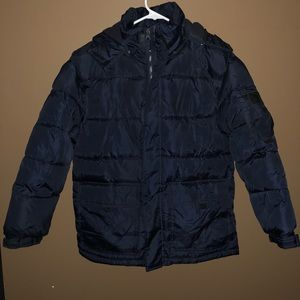 Boys 10-12 Winter Jacket with Hood